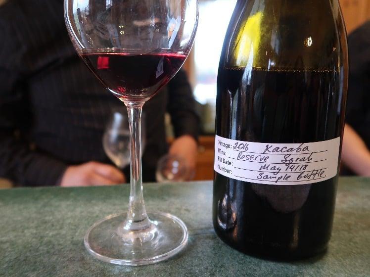 Burlington Wine Club tasting June 28, 2018.