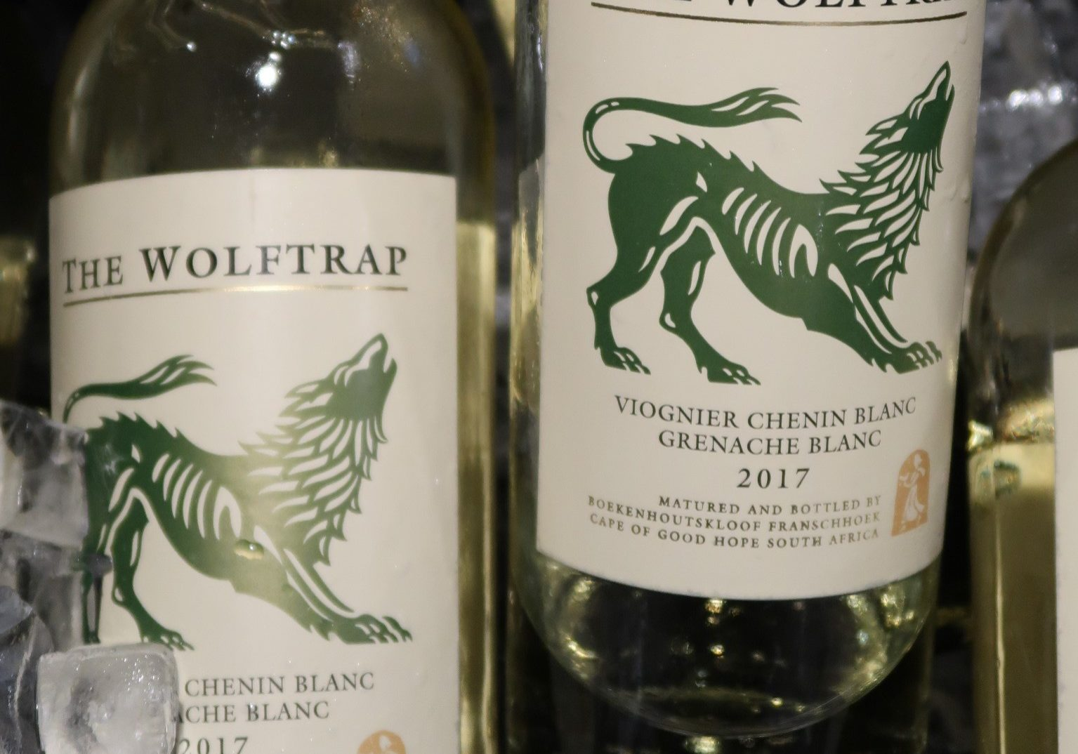 Univins & Spirits The Wolftrap Viognier Chenin Blanc 2017 Burlington Wine Club tasting May 2019